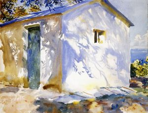 Corfu Lights and Shadows by John Singer Sargent 1909