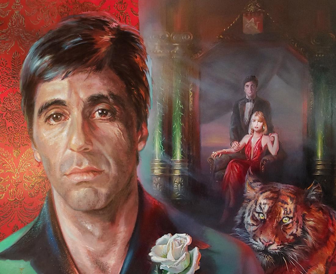 Al Pacino Original Painting