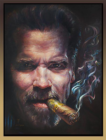 Arnold Schwarzenegger Framed
