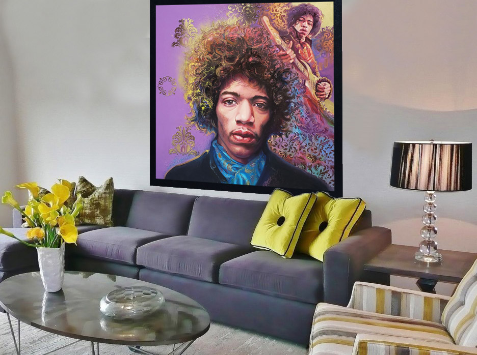 Interior Design with Jimi Hendrix
