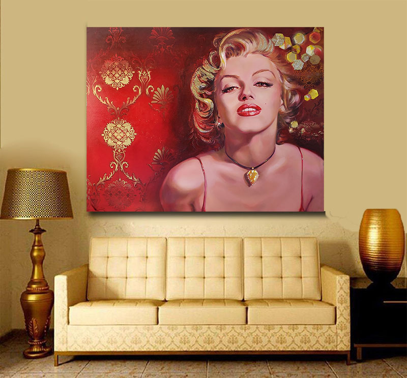 Marilyn Monroe Interior Design Retro Room
