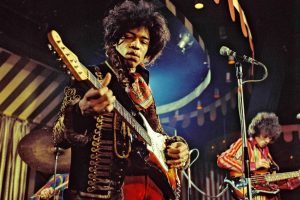 Jimi Hendrix Performing