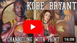 Kobe Bryant Painting Video