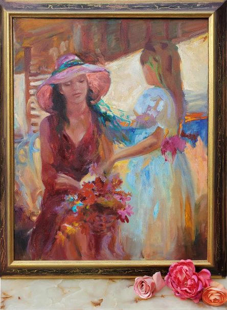 Mothers & Daughters after Pino Framed by Tatyana Zen