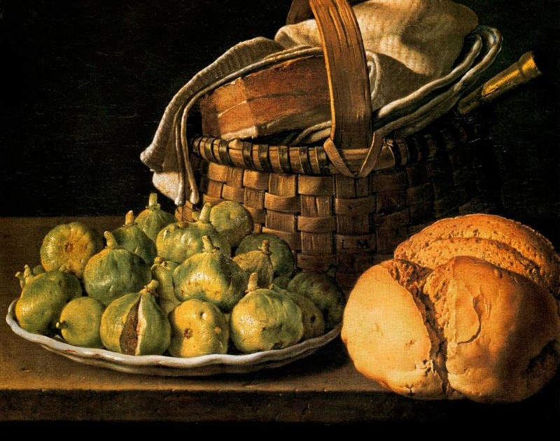 Luis Melendez Still Life with Figs