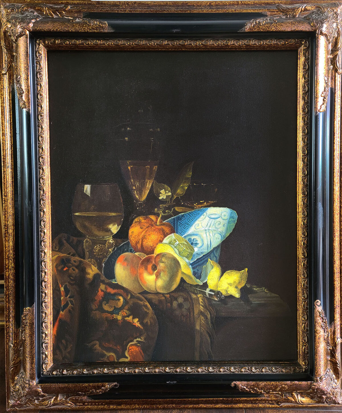 Still Life with Lemons by Tatyana Zen