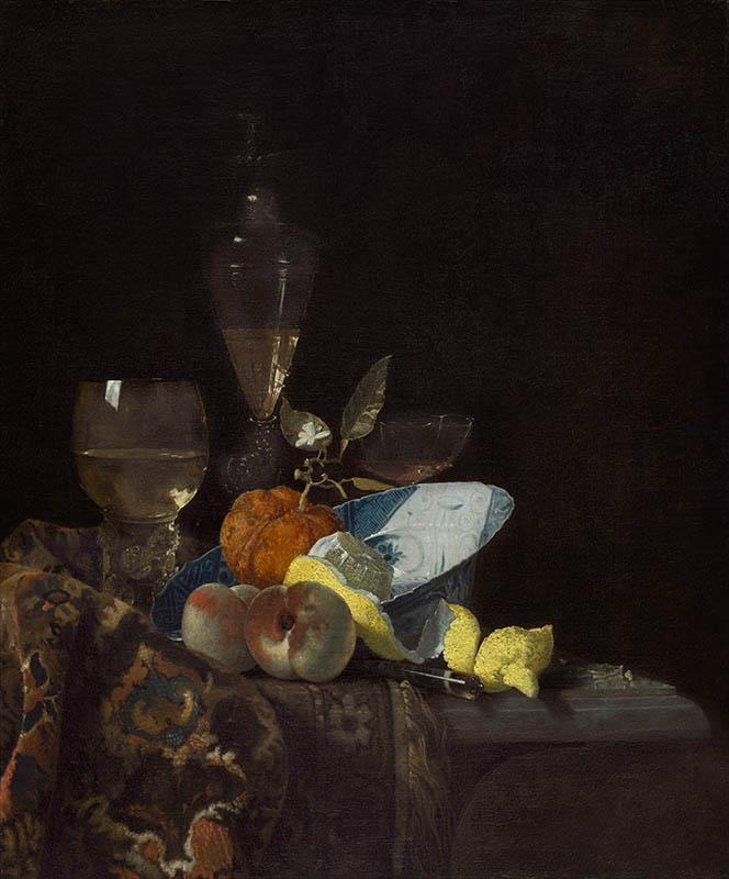 Still Life with Lemons by Willem Kalf